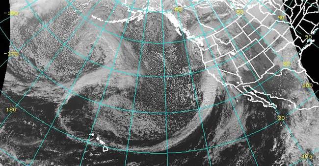 Approaching storm scrubs California rocket launch