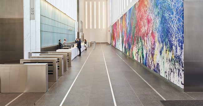 World Trade Center tower boasts large-scale art