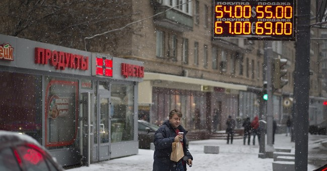 Russia's ruble under pressure despite rate rise
