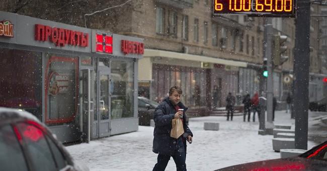Russia's ruble under pressure despite rate rise