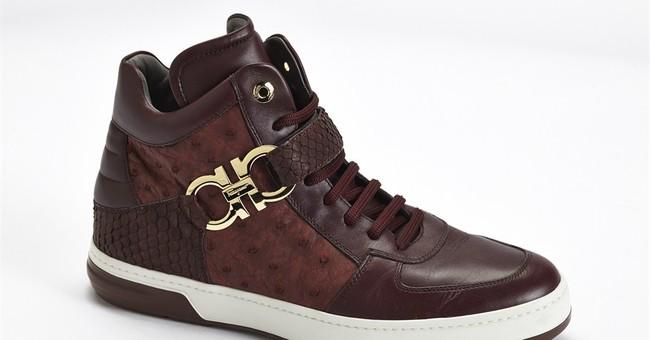 From Ferragamo to Missoni, sneakers tread a trend