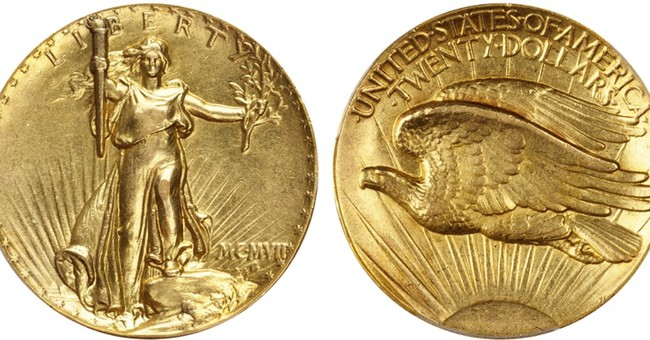 Rare 1907 coin designed by Saint-Gaudens going to auction