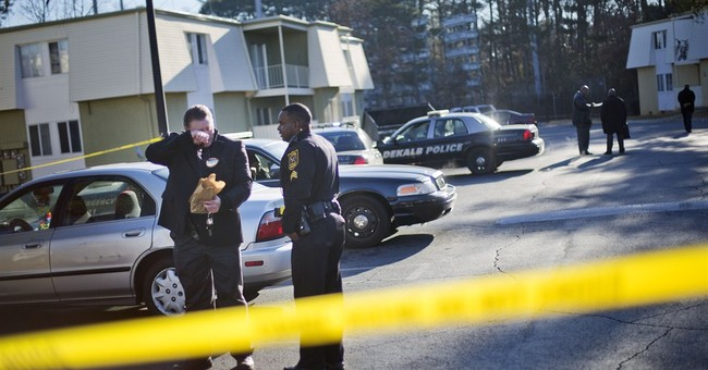 2 officers shot near Atlanta expected to survive