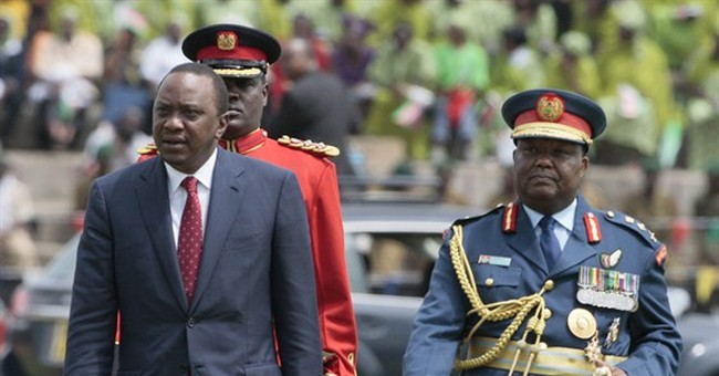 Kenya president argues for tougher security law