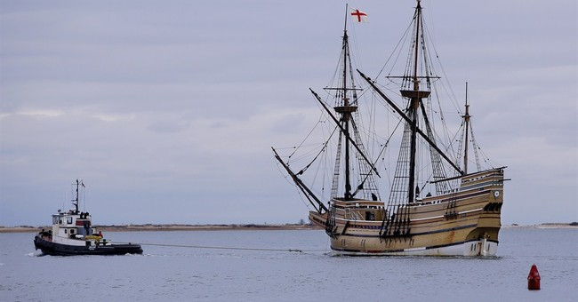 Mayflower replica leaves Plymouth for repairs