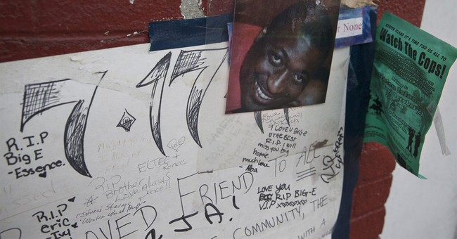 NYC police probe moving swiftly in chokehold case