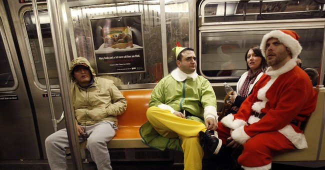 Sharing day of protest, NYC's SantaCon reins in