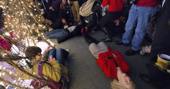 Penn police criticize president's 'die-in' act