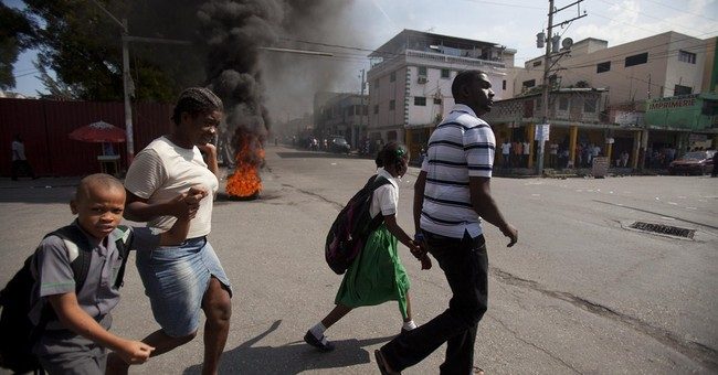 Haiti leader accepts report calling for new gov't