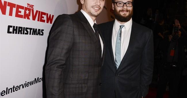 Seth Rogen thanks Sony exec at film premiere