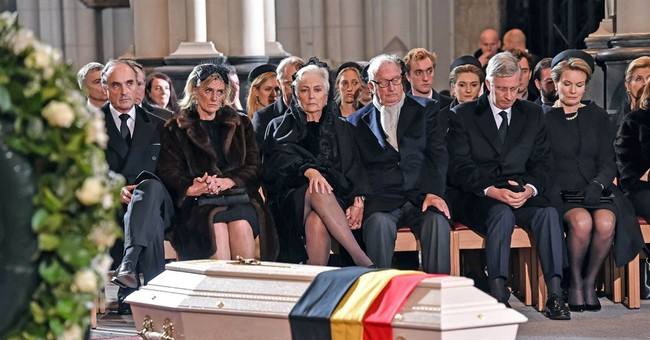 Funeral held for Fabiola, Belgium's dowager queen