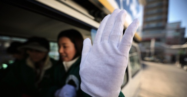 AP PHOTOS: Political campaigning, Japan-style