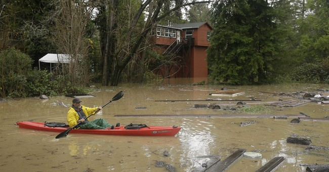 California cleans up as storm hits Southwest