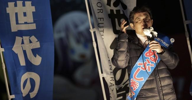 Japan's weak opposition makes Abe default choice