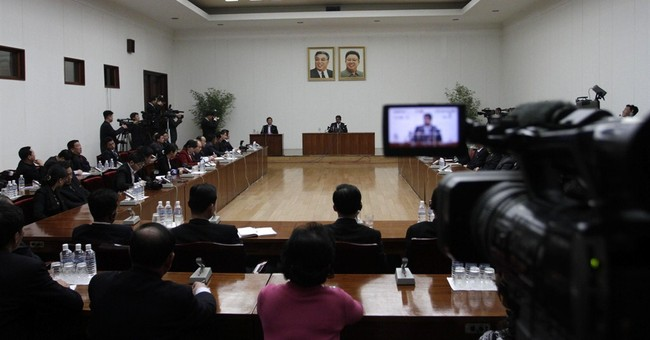 US man illegally in NKorea says he's not detained