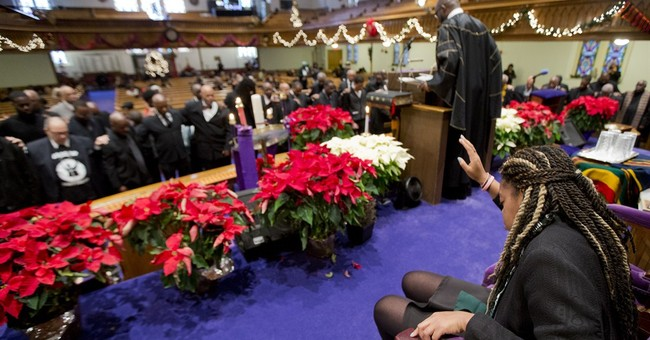 Black churches pray in protest of police slayings