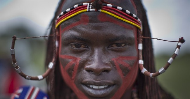 AP PHOTOS: Kenya's Maasai compete in athletics