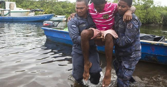 Nicaragua rescue crews find capsized boat