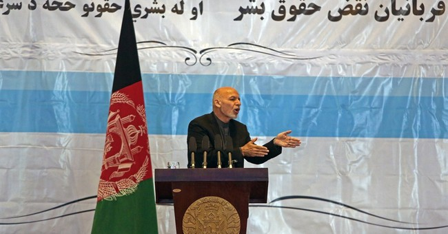 Defiant Afghan president condemns terror attacks