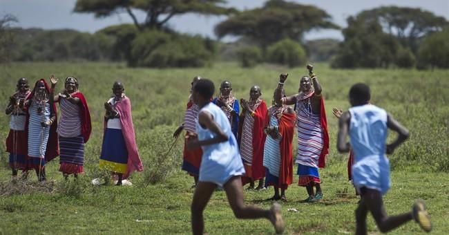 AP PHOTOS: Kenya's Maasai compete in athletics