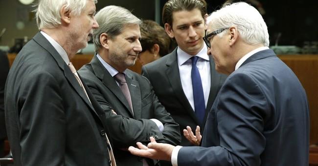 EU pledges aid to help rebuild in Syrian