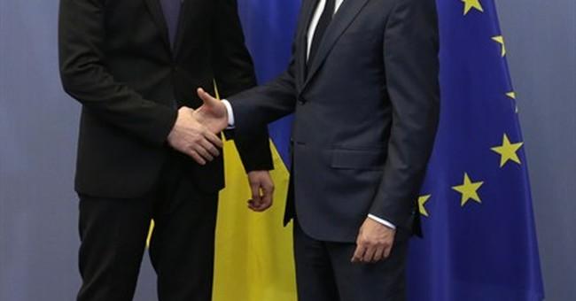 Ukraine prime minister asks NATO for more help