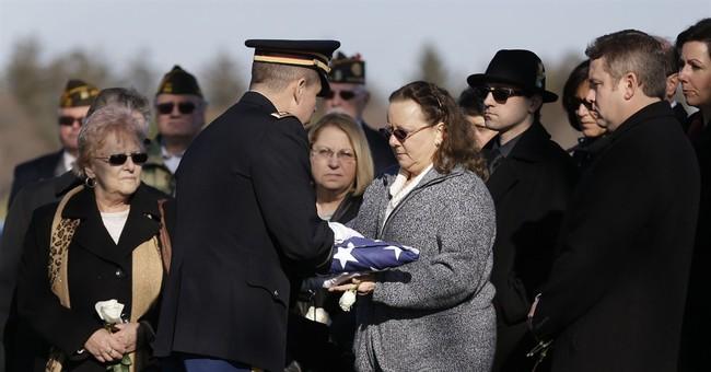 MIA Korean War soldier finally buried next to mom