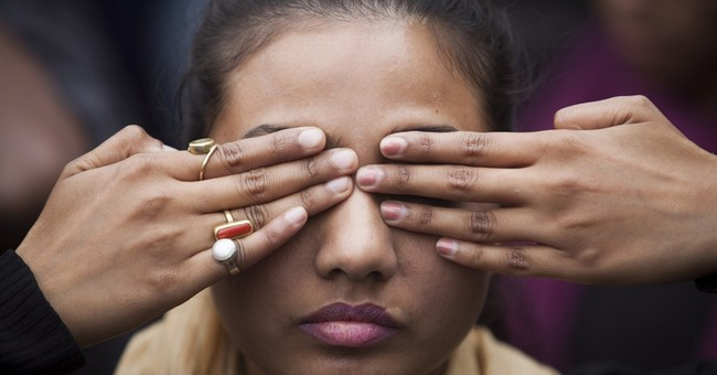 Image of Asia: Protesting violence against women