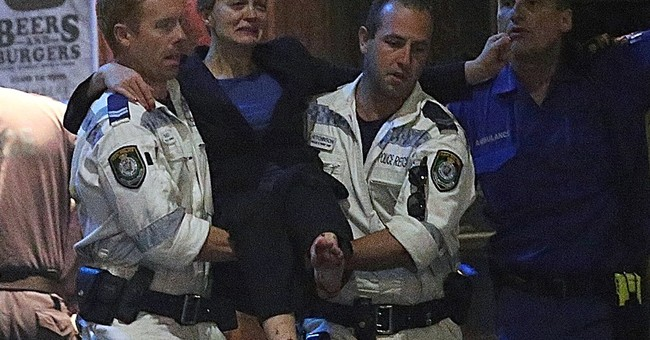 Images capture drama of Australia hostage siege