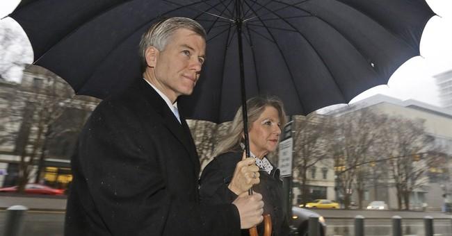 Filing: Ex-gov. has no right to jury instructions