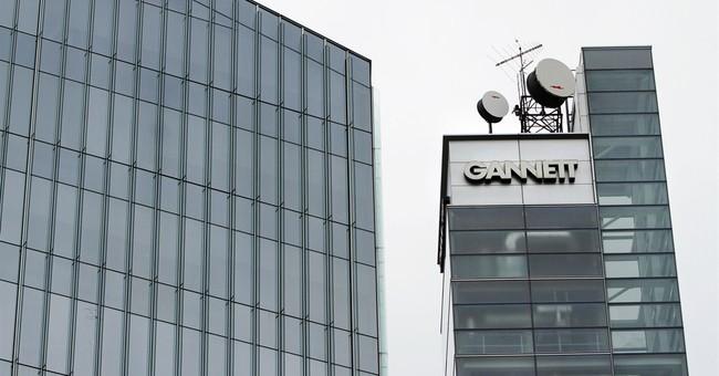 Gannett 4Q profit down 12 pct on lower ad spending