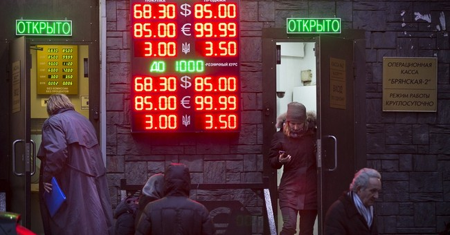 Russia's sinking economy becoming a global threat