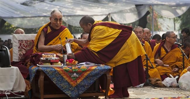 Image of Asia: Dalai Lama marks anniversary