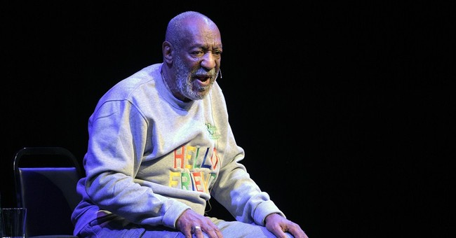 Bill Cosby's youngest daughter defends her embattled dad
