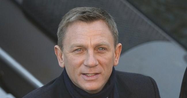 Stiff upper lip: 007 carries on after script leak