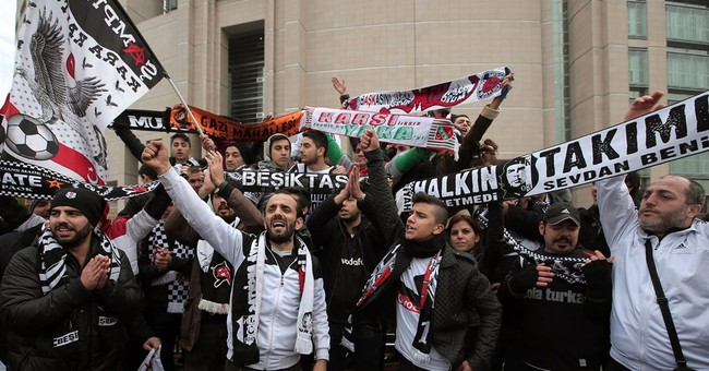 Turkish football fans on trial for 'coup'