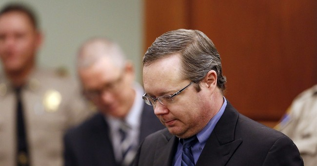 Jury ends 1st day of talks on ex-judge's penalty