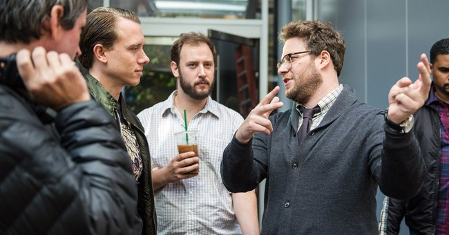 NYC premiere of Rogen film canceled as threats fly