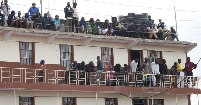 Kenya building collapses; 1 dead, others trapped