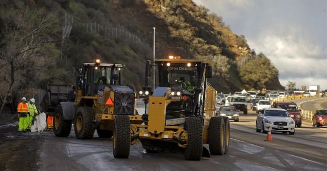 California gets more rain, 1 big mudslide