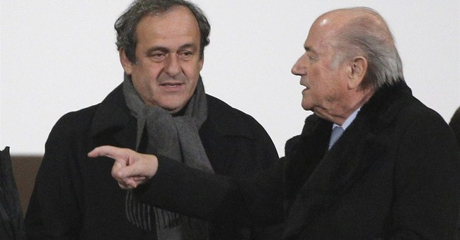 "Blatter to AP: ""Surprised"" by Garcia resignation"