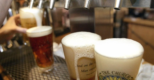 Alcohol calorie counts to be on menus by next year