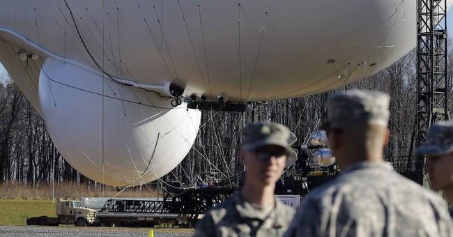 Army's blimp-like airships get East Coast test