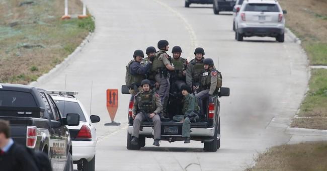 Central Texas TV meteorologist shot; gunman sought