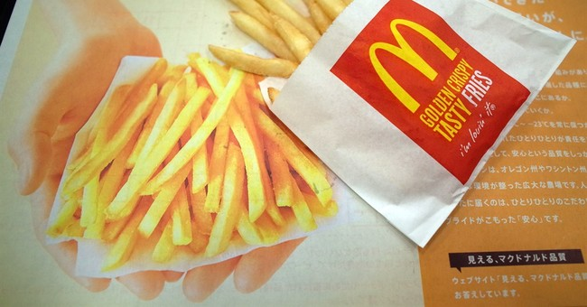 McDonald's in Japan limits orders of fries