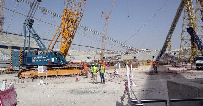 Two-speed labor system in Qatar for 2022 World Cup