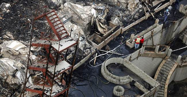 Arson caused $30 million downtown Los Angeles fire