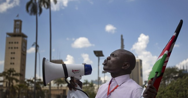 Kenya legislators exchange blows over new security law