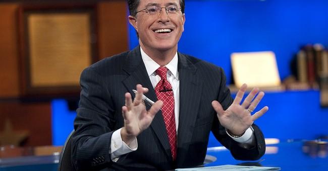 """AP Explains: Stephen Colbert vs. """"Stephen Colbert"""""""