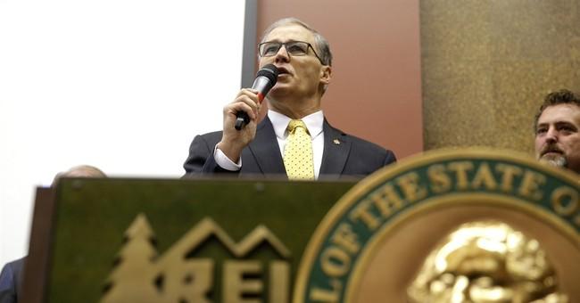 Washington governor proposes carbon pollution cap
